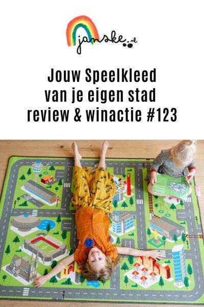 Jouw Speelkleed van je eigen stad - review & winactie #123