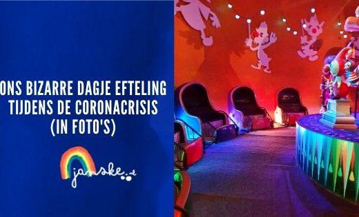 Ons bizarre dagje Efteling tijdens de coronacrisis (in foto's)