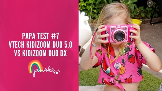 Papa Test #7 - VTech Kidizoom Duo 5.0 vs KidiZoom Duo DX