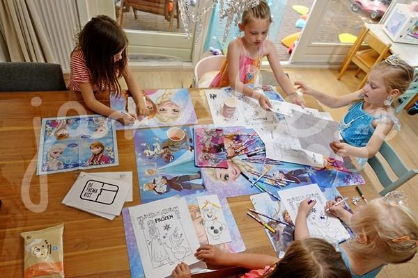 de Themakist Frozen kinderfeestje