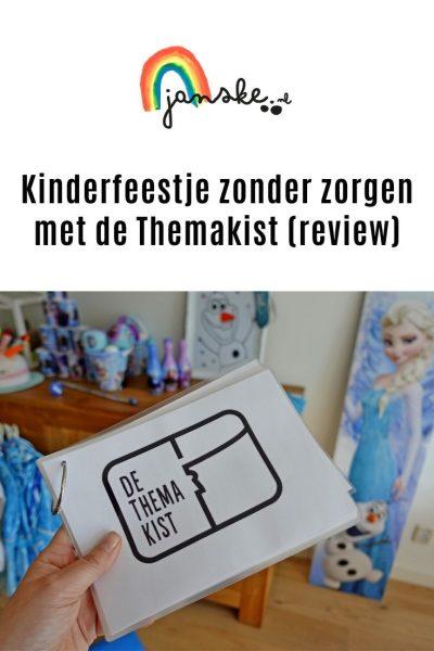 Kinderfeestje zonder zorgen met de Themakist (review)