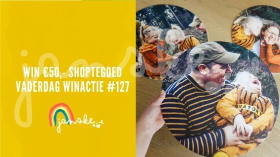 Win €50,- shoptegoed - Vaderdag Winactie #127