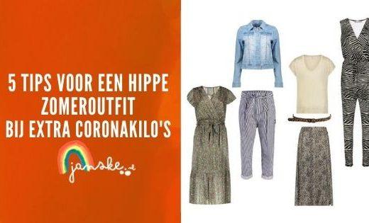 5 tips voor een hippe zomeroutfit bij extra coronakilo's