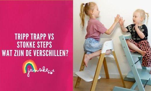 Tripp Trapp vs Stokke Steps - wat zijn de verschillen?