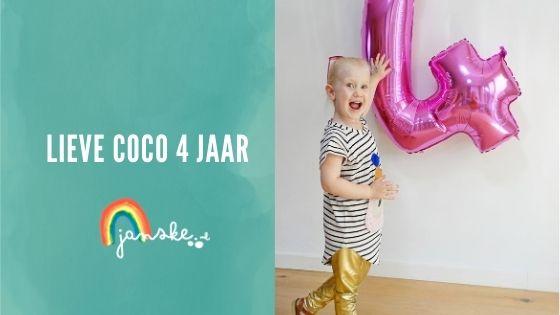 Lieve Coco 4 jaar