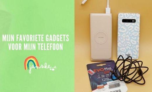 Mijn favoriete gadgets voor mijn telefoon