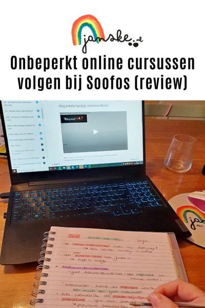 Onbeperkt online cursussen volgen bij Soofos (review)