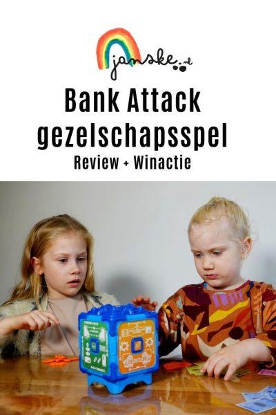Bank Attack – gezelschapsspel – Winactie #135