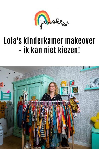 Lola's kinderkamer makeover - ik kan niet kiezen!