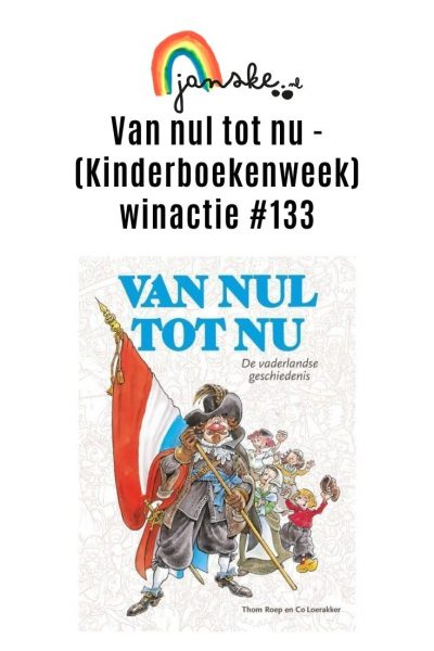 Van nul tot nu - (Kinderboekenweek) winactie #133