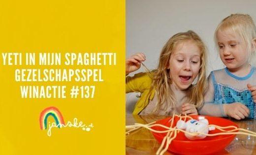 Yeti in mijn spaghetti – gezelschapsspel – Winactie #137