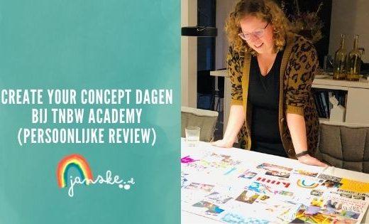 Create Your Concept dagen bij TNBW Academy (persoonlijke review)