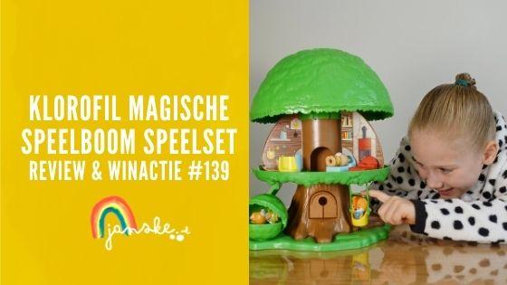 Klorofil Magische Speelboom Speelset – review & winactie #139