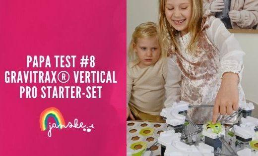 Papa Test #8 - GraviTrax® Vertical PRO starter-set