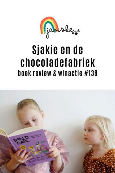 Sjakie en de chocoladefabriek –boek review & winactie #138