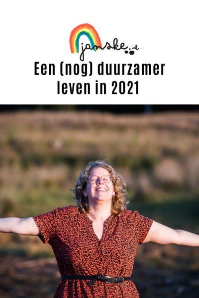 Een (nog) duurzamer leven in 2021