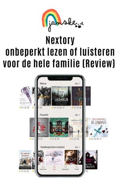 Nextory - onbeperkt lezen of luisteren voor de hele familie (Review)