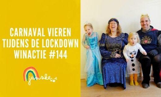 Carnaval vieren tijdens de lockdown winactie #144