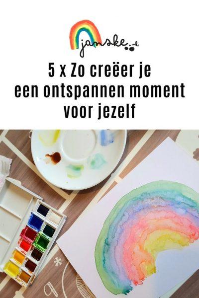 5 x Zo creëer je een ontspannen moment voor jezelf