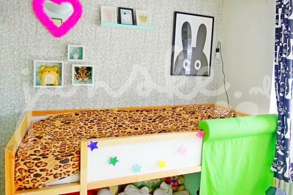 Lola's nieuwe regenboog slaapkamer Part 1 (in foto's)