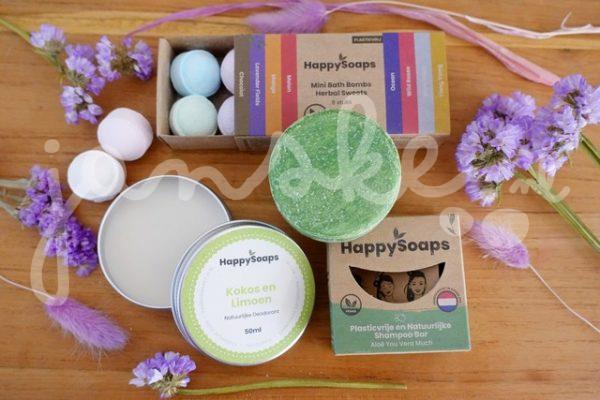 Een plasticvrije badkamer met Happy Soaps
