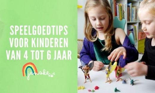 Speelgoedtips voor kinderen van 4 tot 6 jaar