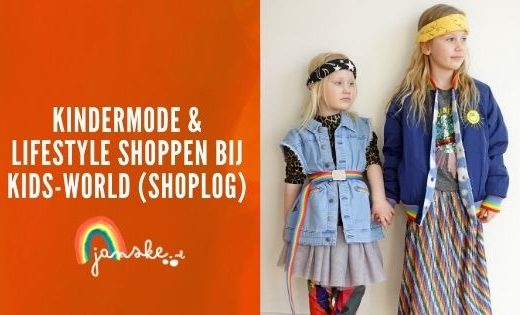 Kindermode & lifestyle shoppen bij Kids-World (Shoplog)