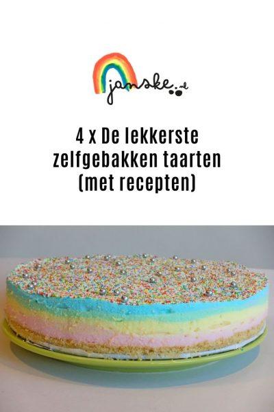 4 x De lekkerste zelfgebakken taarten (met recepten)