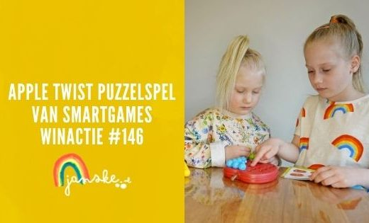 Apple Twist puzzelspel van SmartGames – winactie #146
