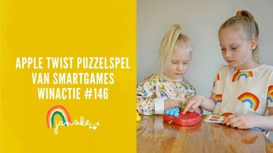 Apple Twist puzzelspel van SmartGames – winactie #146