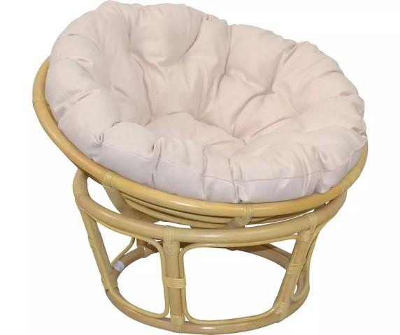 HOME AFFAIRE Papasan-stoel met kussen €139,99