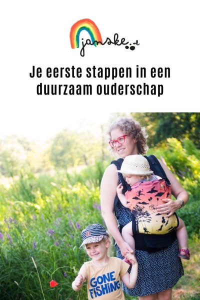 Je eerste stappen in een duurzaam ouderschap