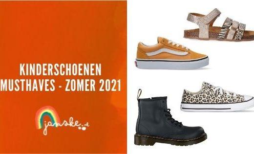 Kinderschoenen musthaves - zomer 2021