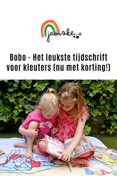 Bobo - Het leukste tijdschrift voor kleuters (nu met korting!)