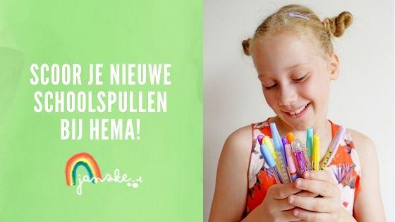 Scoor je nieuwe schoolspullen bij HEMA!