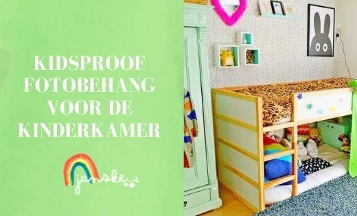 Kidsproof fotobehang voor de kinderkamer