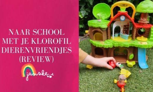Naar school met je Klorofil dierenvriendjes (review)