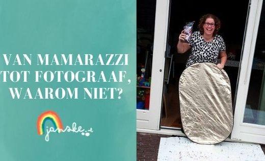 Van mamarazzi tot fotograaf, waarom niet?