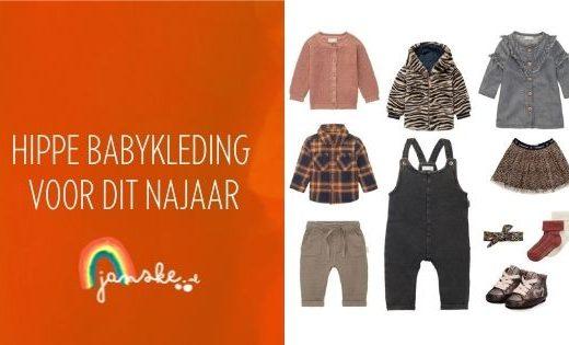 Hippe babykleding voor dit najaar