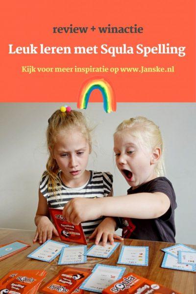 Leuk leren met Squla Spelling (Review + Winactie #152)