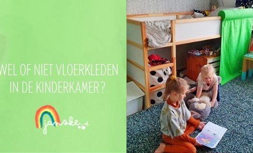 Wel of niet vloerkleden in de kinderkamer?