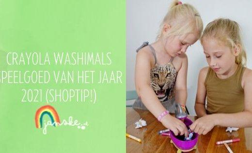 Crayola Washimals - Speelgoed van het Jaar 2021 (shoptip!)