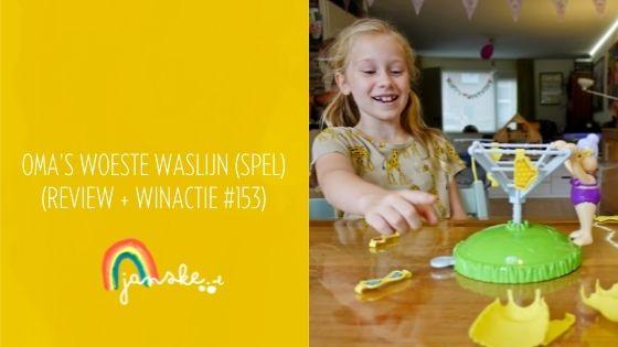 Oma's Woeste Waslijn (spel) - (Review + Winactie #153)