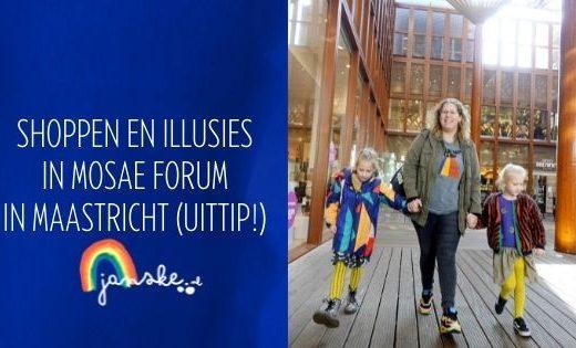 Shoppen en illusies in Mosae Forum in Maastricht (uittip!)
